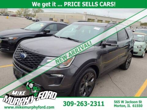 2018 Ford Explorer for sale at Mike Murphy Ford in Morton IL