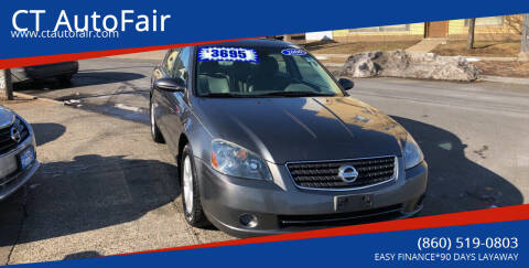 2006 Nissan Altima for sale at CT AutoFair in West Hartford CT