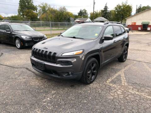 2016 Jeep Cherokee for sale at Dean's Auto Sales in Flint MI