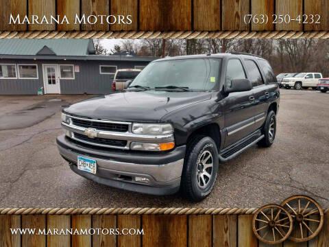 2005 Chevrolet Tahoe for sale at Marana Motors in Princeton MN