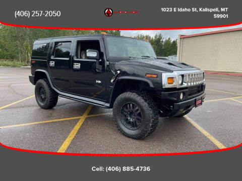 2003 HUMMER H2 for sale at Auto Solutions in Kalispell MT