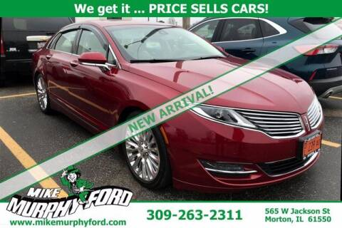 2013 Lincoln MKZ for sale at Mike Murphy Ford in Morton IL