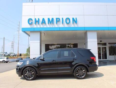 2018 Ford Explorer for sale at Champion Chevrolet in Athens AL