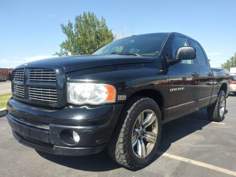 2003 Dodge Ram Pickup 1500 for sale at AUTOMOTIVE SOLUTIONS in Salt Lake City UT