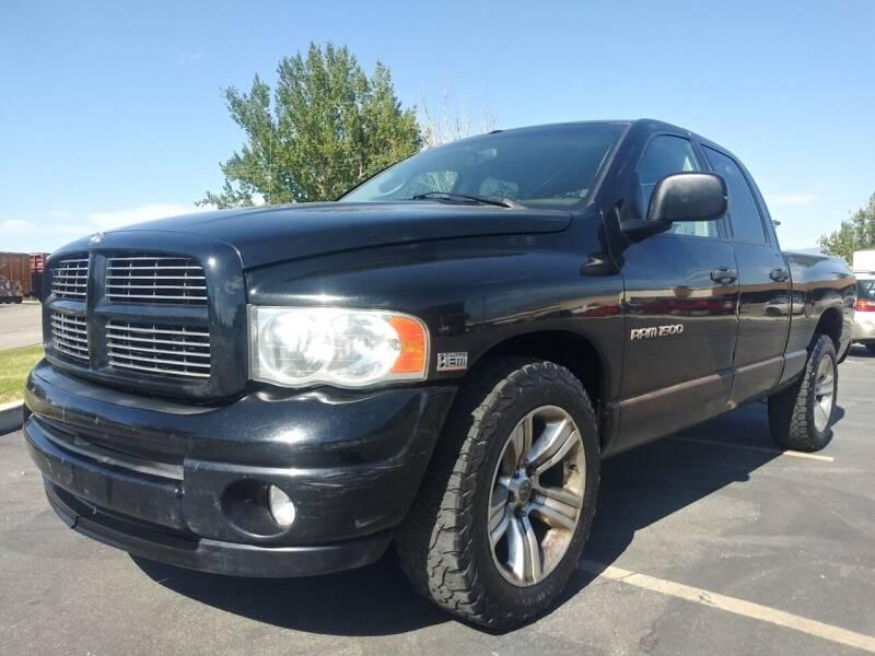 2003 Dodge Ram Pickup 1500 for sale at AUTOMOTIVE SOLUTIONS in Salt Lake City UT
