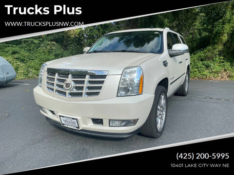2011 Cadillac Escalade for sale at Trucks Plus in Seattle WA