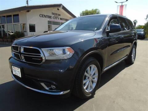 2014 Dodge Durango for sale at Centre City Motors in Escondido CA