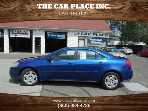 2007 Pontiac G6 for sale at THE CAR PLACE INC. in Somersville CT
