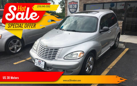 2004 Chrysler PT Cruiser for sale at US 30 Motors in Merrillville IN