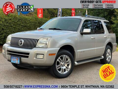 2007 Mercury Mountaineer for sale at Auto Sales Express in Whitman MA