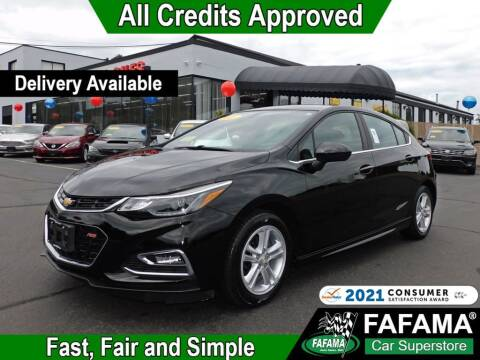 2017 Chevrolet Cruze for sale at FAFAMA AUTO SALES Inc in Milford MA