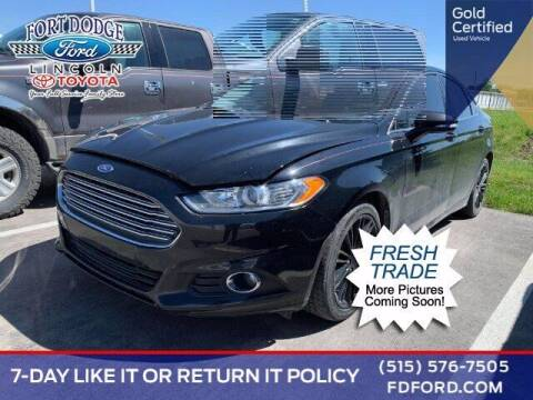 2016 Ford Fusion for sale at Fort Dodge Ford Lincoln Toyota in Fort Dodge IA