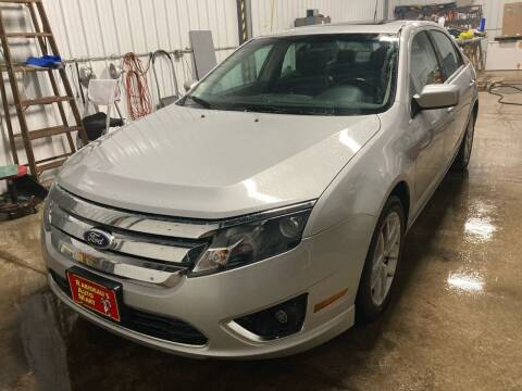 2010 Ford Fusion for sale at RABIDEAU'S AUTO MART in Green Bay WI
