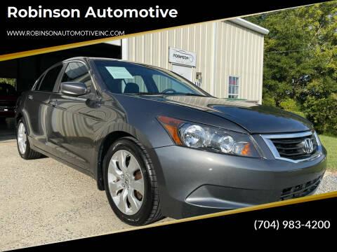 2010 Honda Accord for sale at Robinson Automotive in Albemarle NC