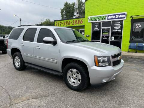 2013 Chevrolet Tahoe for sale at Empire Auto Group in Indianapolis IN