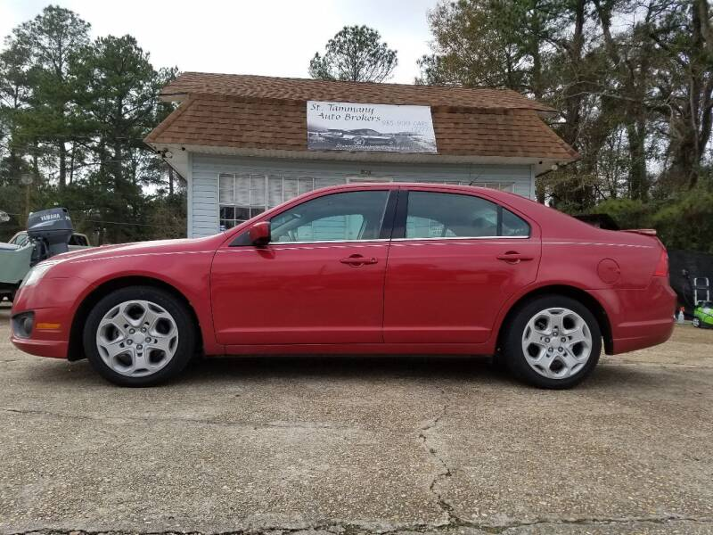 2011 Ford Fusion for sale at St. Tammany Auto Brokers in Slidell LA