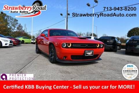2019 Dodge Challenger for sale at Strawberry Road Auto Sales in Pasadena TX