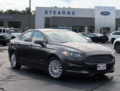 2016 Ford Fusion Hybrid for sale at Stearns Ford in Burlington NC