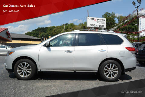 2015 Nissan Pathfinder for sale at Car Xpress Auto Sales in Pittsburgh PA