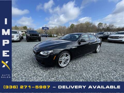 2015 BMW 6 Series for sale at Impex Auto Sales in Greensboro NC