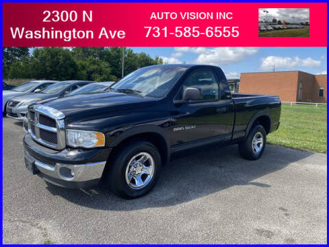 2002 Dodge Ram Pickup 1500 for sale at Auto Vision Inc. in Brownsville TN