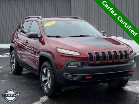 2014 Jeep Cherokee for sale at Bankruptcy Auto Loans Now - powered by Semaj in Brighton MI