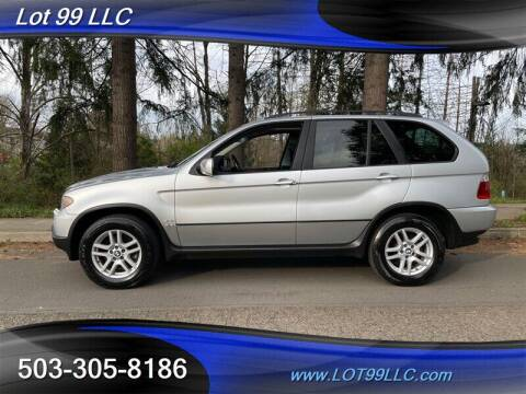 2004 BMW X5 for sale at LOT 99 LLC in Milwaukie OR