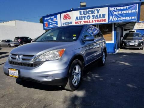 2010 Honda CR-V for sale at Lucky Auto Sale in Hayward CA