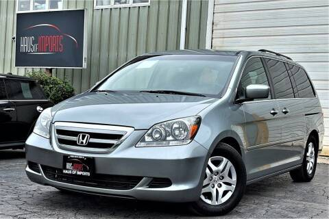 2007 Honda Odyssey for sale at Haus of Imports in Lemont IL