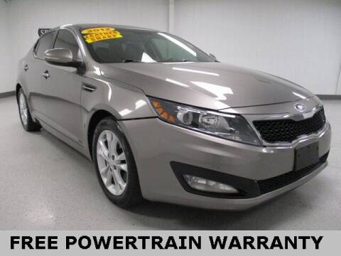 2012 Kia Optima for sale at Sports & Luxury Auto in Blue Springs MO