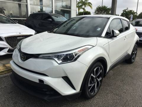 2019 Toyota C-HR for sale at DORAL HYUNDAI in Doral FL
