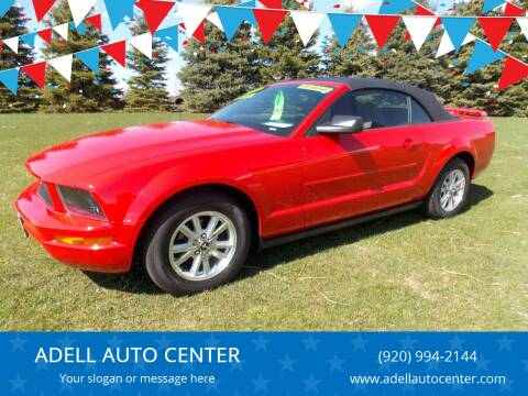 2007 Ford Mustang for sale at ADELL AUTO CENTER in Waldo WI