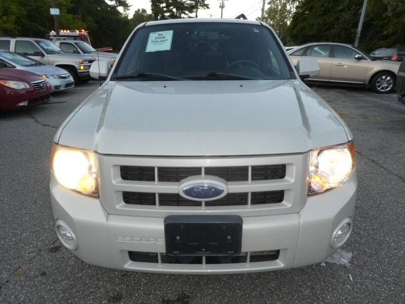 2008 Ford Escape for sale at Wheels and Deals in Springfield MA