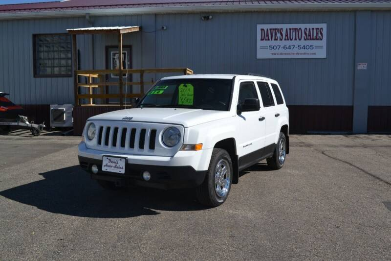 2014 Jeep Patriot for sale at Dave's Auto Sales in Winthrop MN