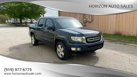 2011 Honda Ridgeline for sale at Horizon Auto Sales in Raleigh NC