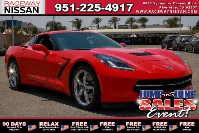 2015 Chevrolet Corvette for sale in Riverside, CA