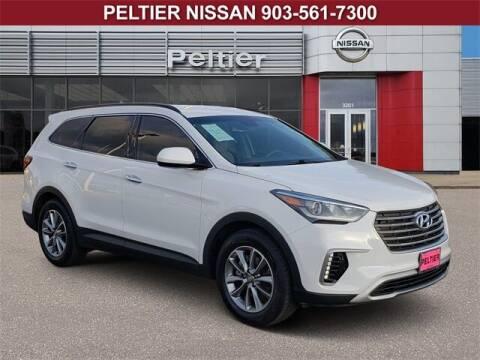 2018 Hyundai Santa Fe for sale at TEX TYLER Autos Cars Trucks SUV Sales in Tyler TX