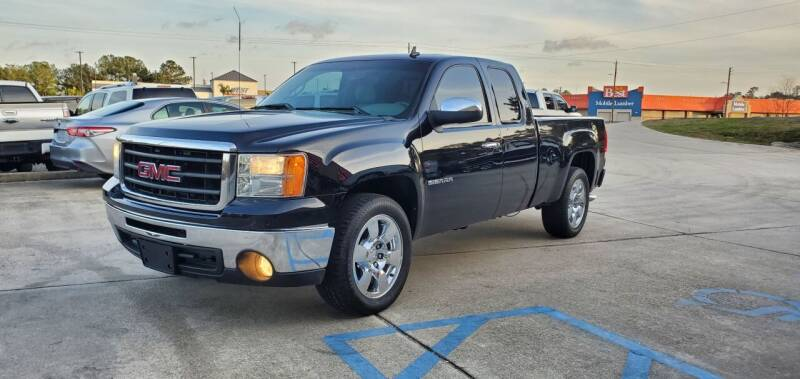 2010 GMC Sierra 1500 for sale at WHOLESALE AUTO GROUP in Mobile AL