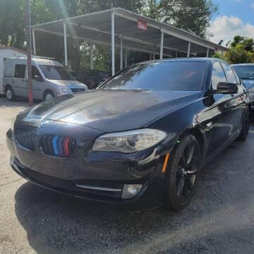2011 BMW 5 Series for sale at America Auto Wholesale Inc in Miami FL