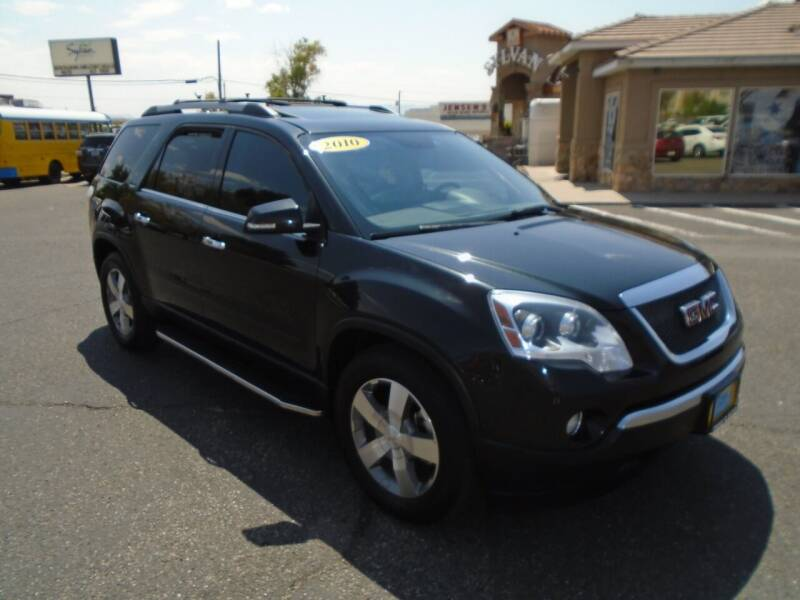 2010 GMC Acadia for sale at Team D Auto Sales in St George UT
