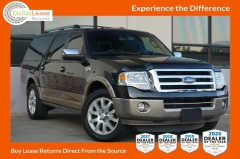 2013 Ford Expedition EL for sale at Dallas Auto Finance in Dallas TX