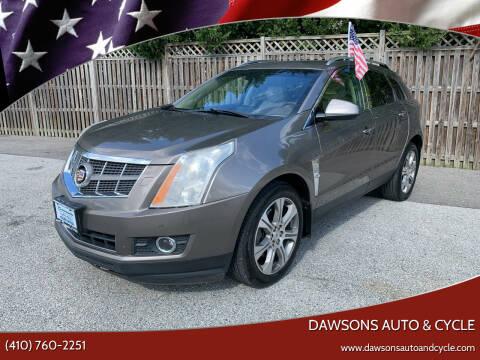 2012 Cadillac SRX for sale at Dawsons Auto & Cycle in Glen Burnie MD