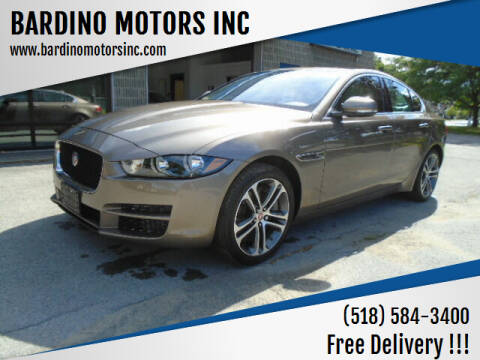 2017 Jaguar XE for sale at BARDINO MOTORS INC in Saratoga Springs NY