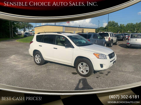 2011 Toyota RAV4 for sale at Sensible Choice Auto Sales, Inc. in Longwood FL