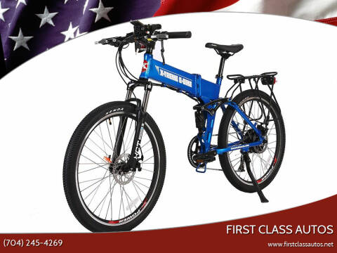 2021 X-treme Baja 48 Volt Mountain Bike for sale at First Class Autos in Maiden NC