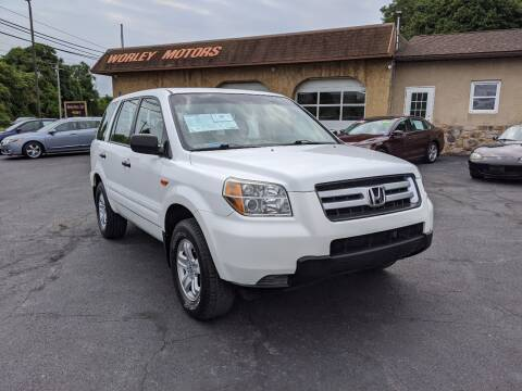 2006 Honda Pilot for sale at Worley Motors in Enola PA