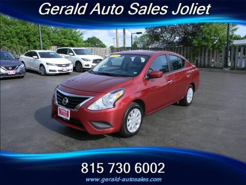 2019 Nissan Versa for sale at Gerald Auto Sales in Joliet IL