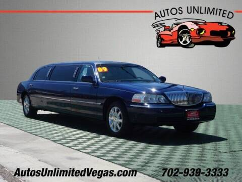 2009 Lincoln Town Car for sale at Autos Unlimited in Las Vegas NV