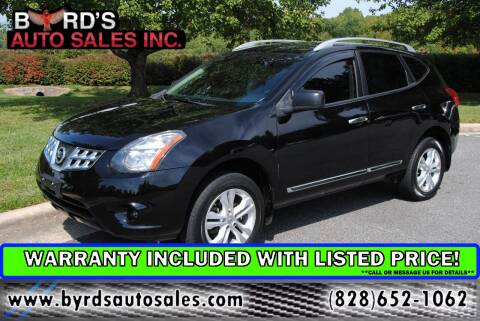 2015 Nissan Rogue Select for sale at Byrds Auto Sales in Marion NC