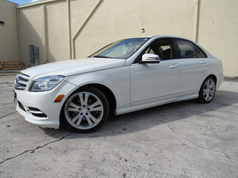 2011 Mercedes-Benz C-Class for sale at Easy Deal Auto Brokers in Hollywood FL
